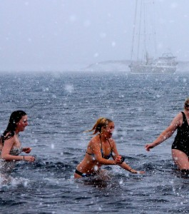 Merry Christmas from Antarctica…Let's Polar Plunge!