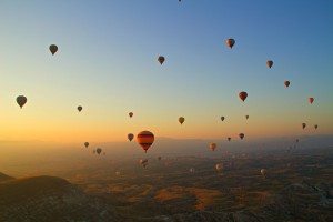 Hot Air Ballooning in Cappadocia like Royalty