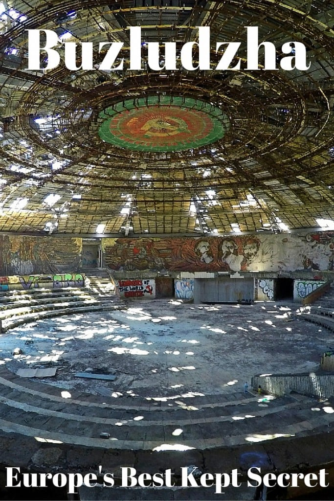 """Never Forget Your Past. """"Break in"""" to Buzludzha to learn the history behind one of Europe's most undiscovered and under-appreciated sites. This is Europe's Best Kept Secret."""